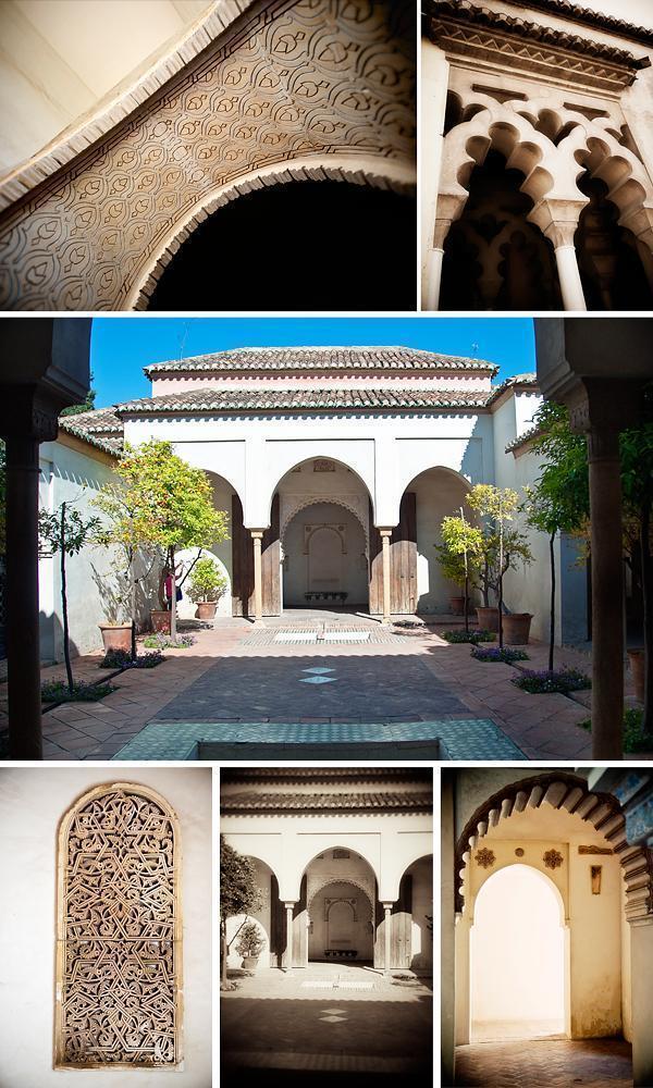 The Cuartos de Granada at the Alcazaba, Malaga