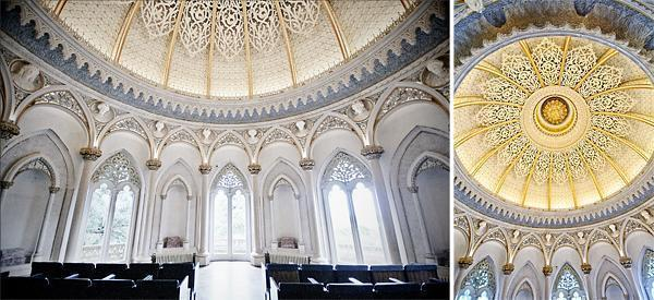 The Music Room with its stunning domed ceiling