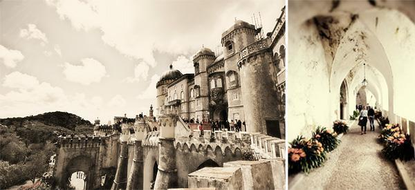 Pena Palace in Monochrome