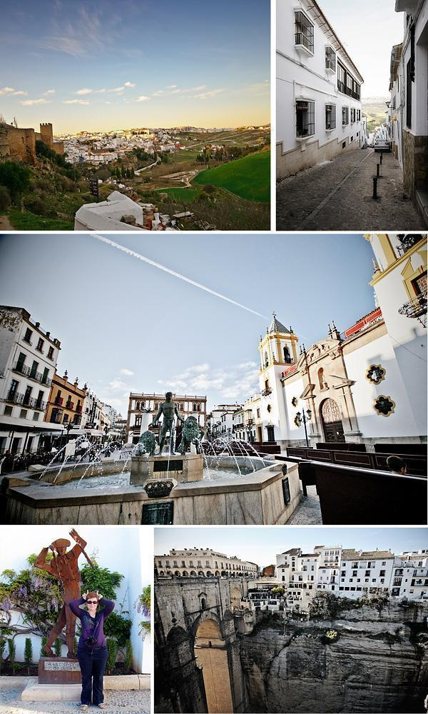 Wandering the quiet streets of Ronda, Spain