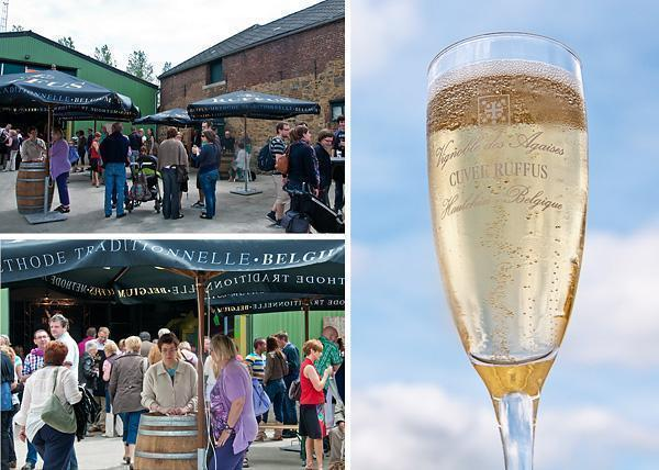 Domaine des Agaises Open Door Days and Cuvee Ruffus Brut Sauvage