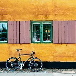Bicycle in Copenhagen, Denmark