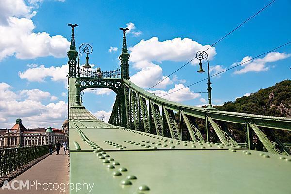 The Liberty Bridge, Budapest, Hungary