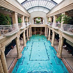 Gellert Spa and Baths in Budapest, Hungary