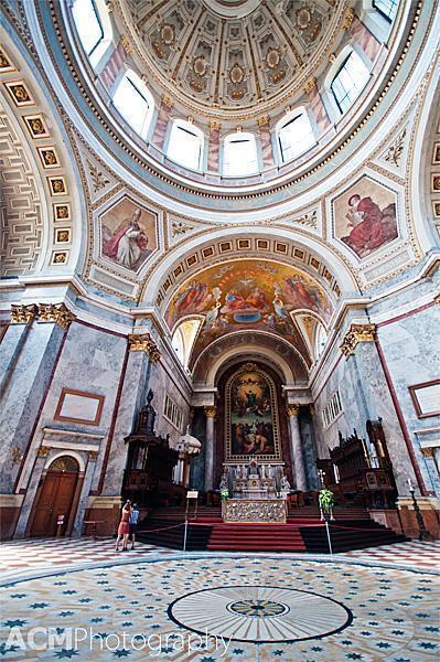 Inside Estergom Basilica