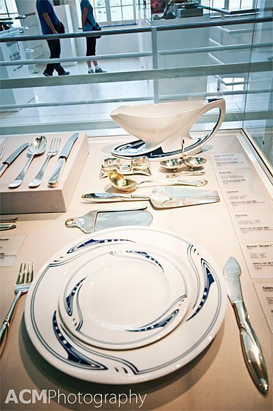 Table setting in the Design Museum Gent