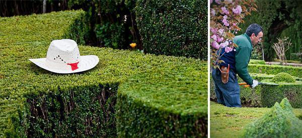 Gardener at the Alhambra