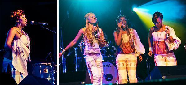 Bella Mondo an all female reggae band from the Ivory Coast