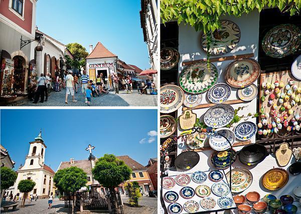 Strolling through Szentendre, Hungary