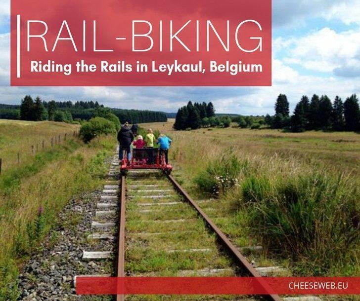 The railroad used to travel to many corners of the world, carrying people and freight. But what happens with the tracks when they are no longer used? We went to visit Railbike.be in Leykaul, Belgium to find out one family-friendly alternative.