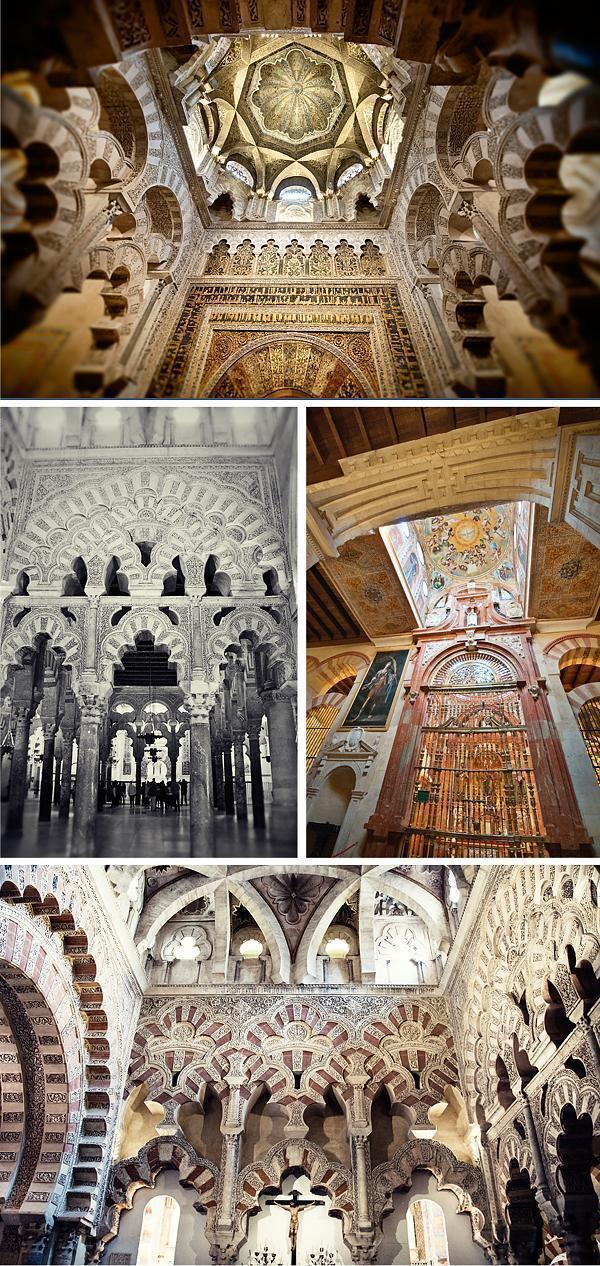 Inside the Mezquita-Cathedral of Cordoba