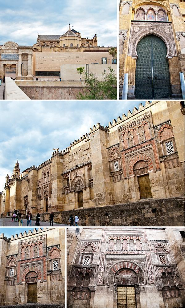Exterior of the Mezquita Cathedral of Cordoba, Spain