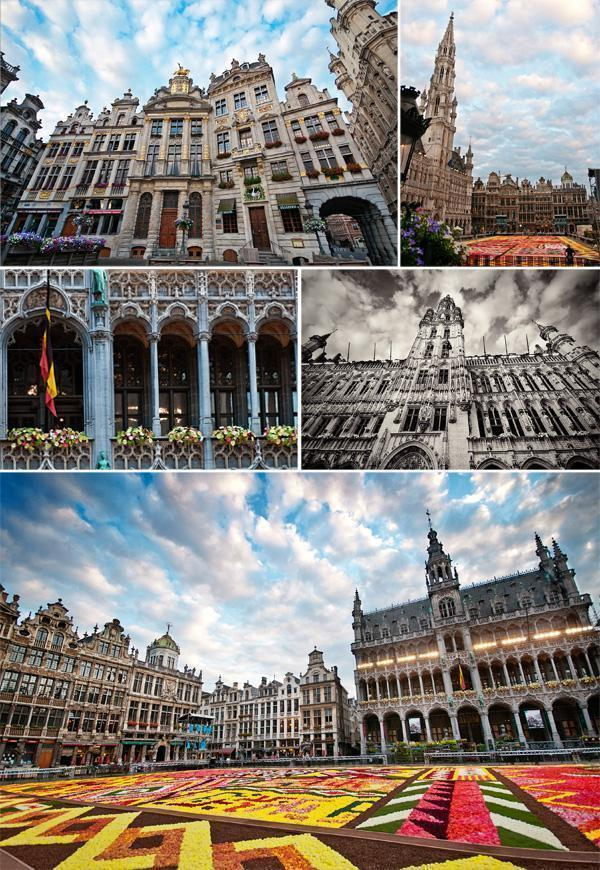 Brussels Grand Place Flower Carpet