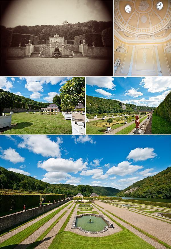 Freyr Castle gardens