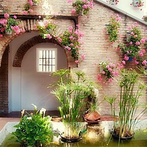 Secret Garden in Cordoba, Spain