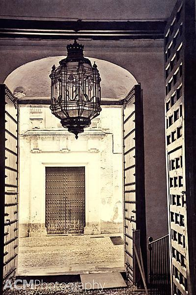 Doors and Lantern