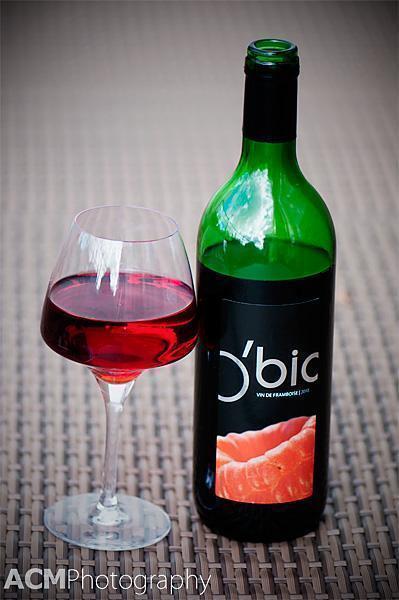 O'Bio Vin de Framboise - Belgian Raspberry Wine