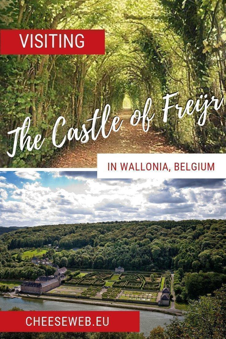 With its Renaissance style architecture, terraced formal gardens and fascinating history, the Castle of Freÿr, on the Meuse River, would be at home among the chateaux of France's Loire Valley. However, you'll find it in the province of Namur, in Wallonia, Belgium.
