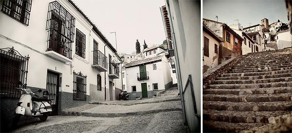Granada's crazy streets