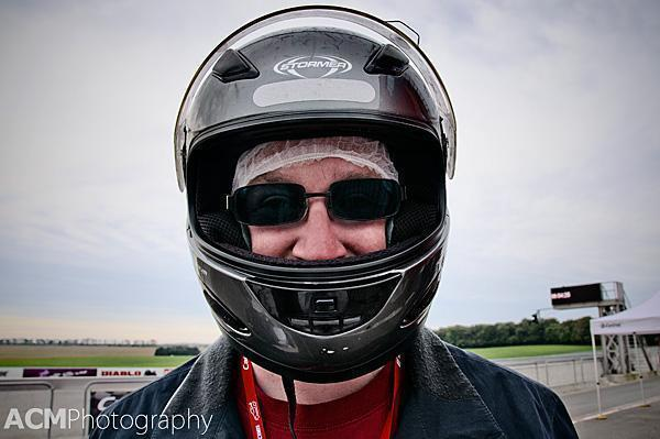 Andrew - The Stig in training