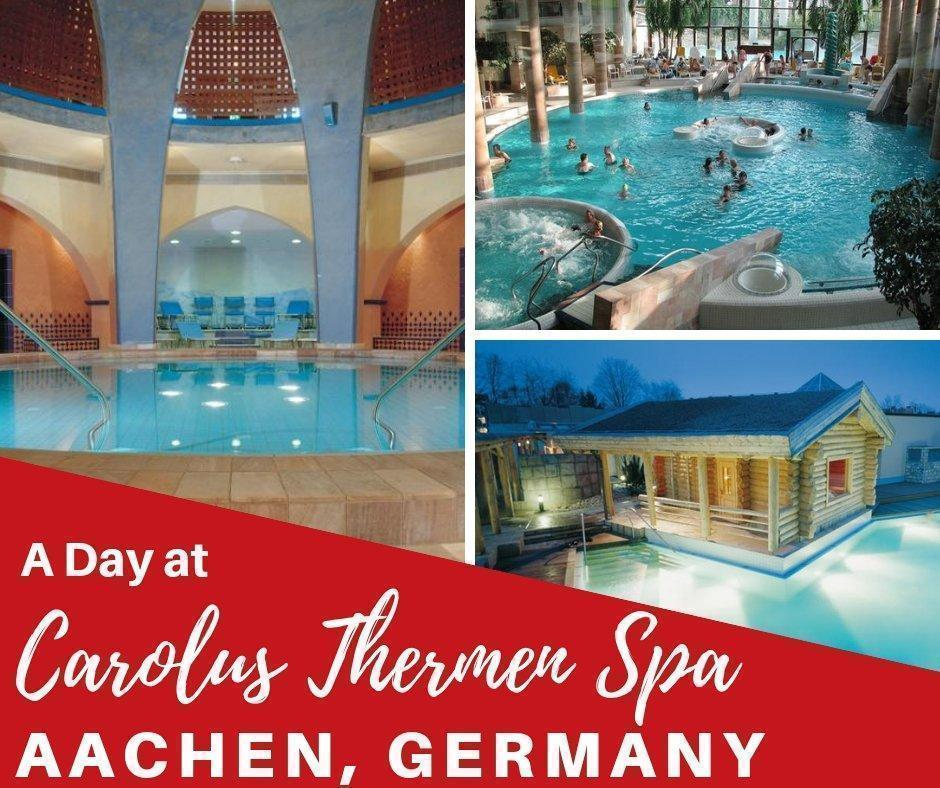 What better way to unwind than a day at the spa? If you're looking for a stunning spa complex just beyond Belgium, why not pop over the border to #Aachen #Germany and visit Carolus Thermen Bad Aachen. It's one of our all-time favourite spa experiences!