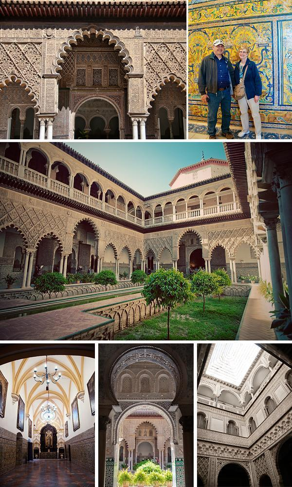 The Courtyard of the Maidens, Real Alcazar, Seville