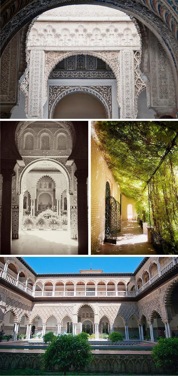Wandering through the Real Alcazar, Seville