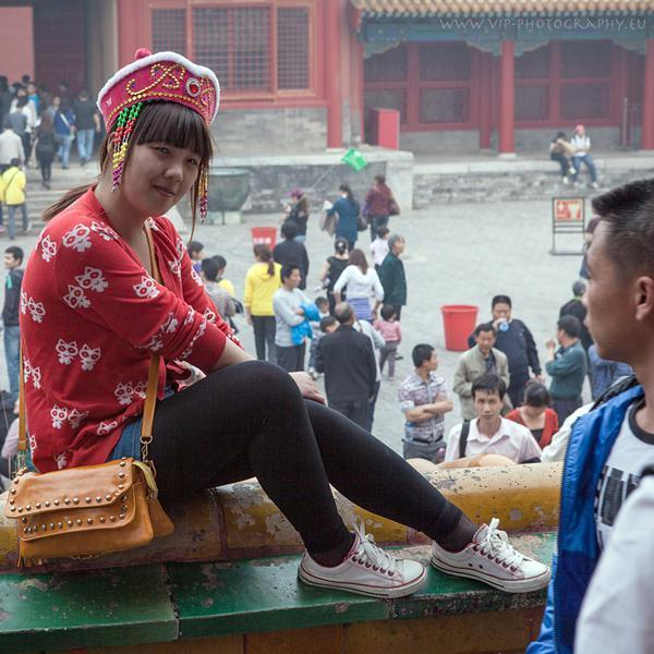 Woman in China