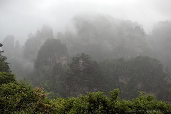 Mountainscape in China