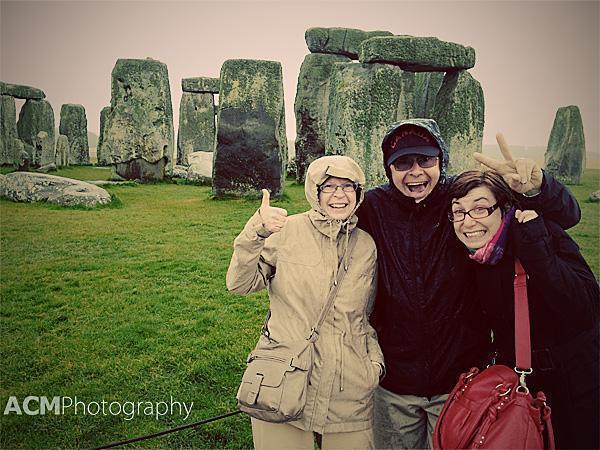 Soggy at Stonehenge
