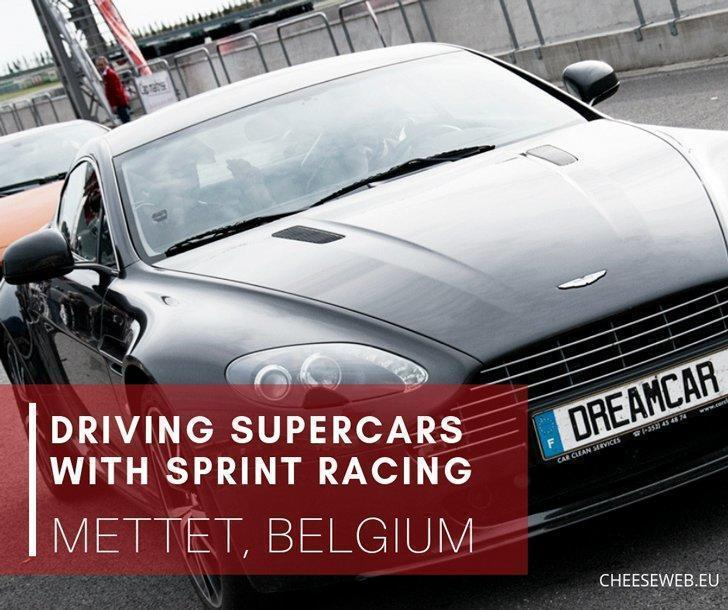 If you want to make driving your dream car a reality, head to Mettet, Belgium where you can race supercars with a professional driver at Sprint Racing.