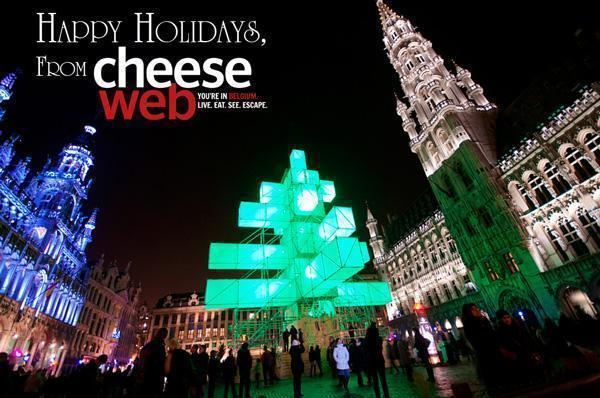 Happy Holidays from Brussels