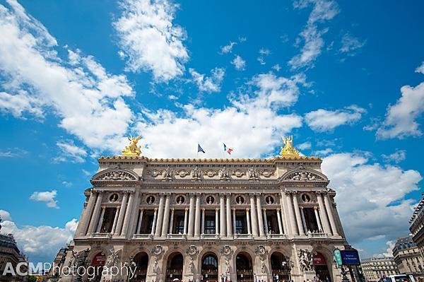 The Palais Garnier Facade
