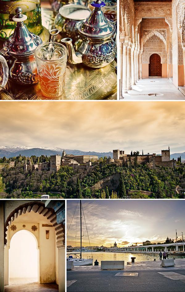 Malaga and Granada in all their Moorish splendour