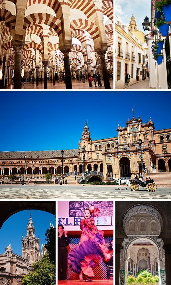 Seville and Cordoba - colourful and flamboyant