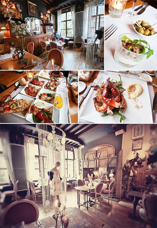 House of Eliott Restaurant in Ghent, Belgium