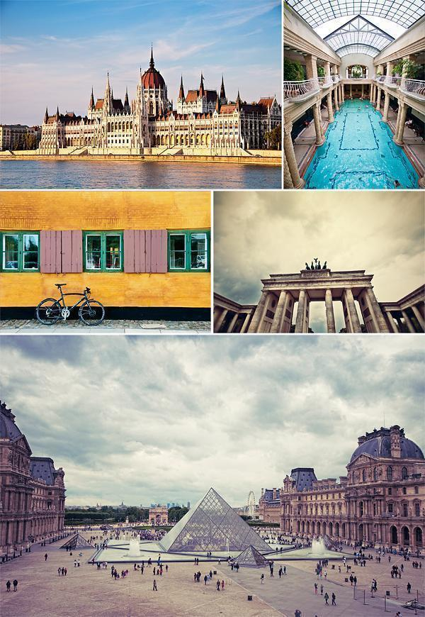 July - A whirlwind month around Europe
