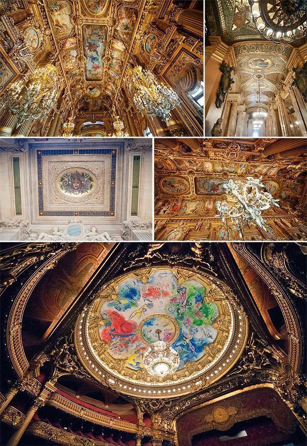 Palais Garnier Ceilings