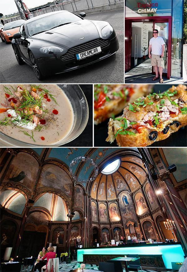 Fast cars, great food and a touch of culture