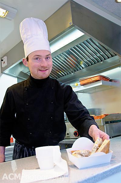Jean-Baptiste is passionate about toasties!