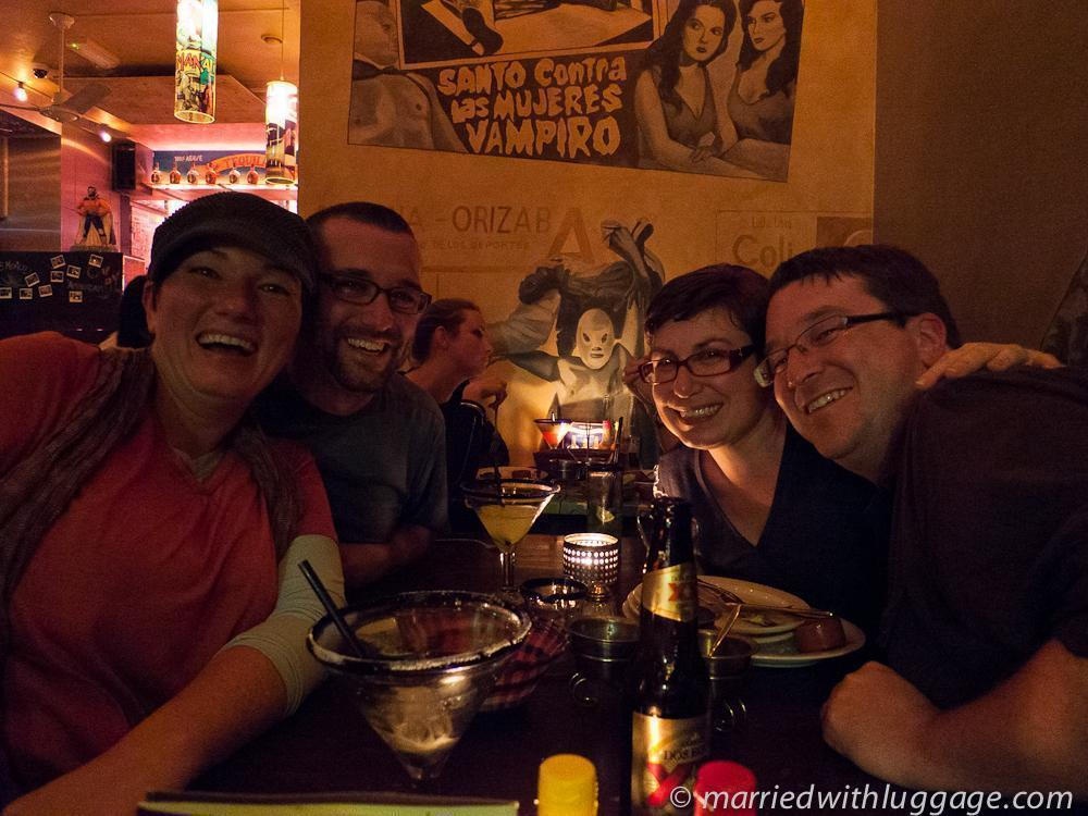 Great friends at Los Pilones