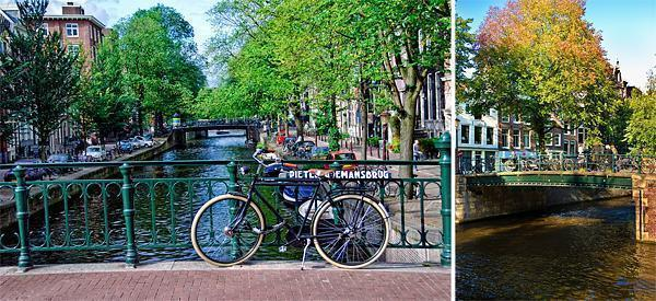 Amsterdam's beautiful canals