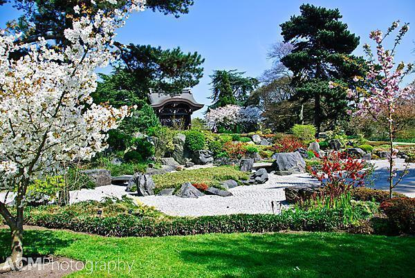 The Japanese Garden at Kew, London, England