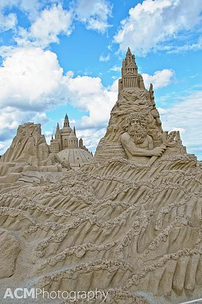 Sand Sculpture Competition, Copenhagen
