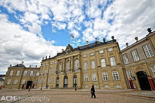 Amalienborg, the Danish Royal Winter Palace