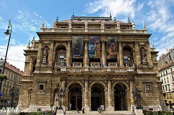 Budapest's Hungarian State Opera House