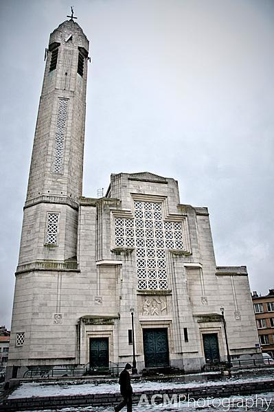 Molenbeek's Church of Saint-Jean Baptist