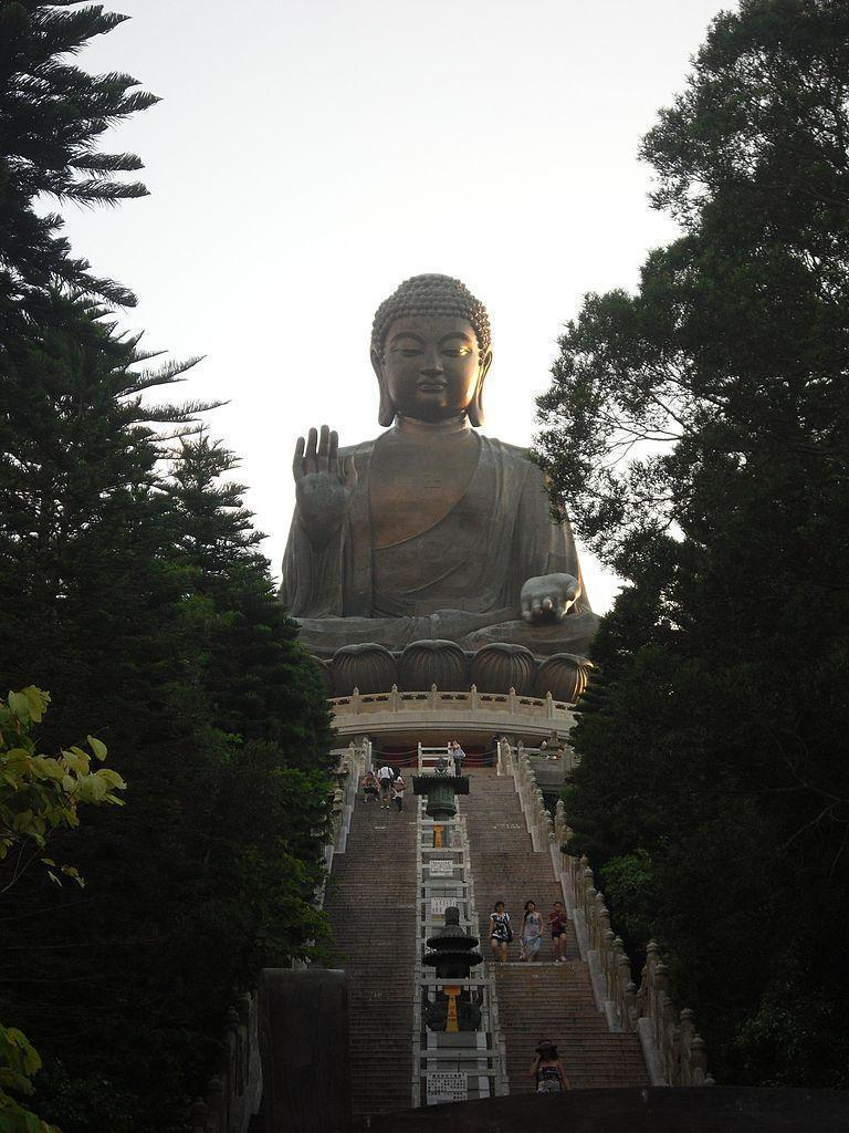 Burn off Dim Sum calories by hiking up to the Big Buddha of Lantau