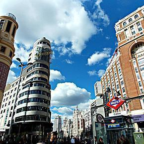 Madrid, Spain is a great place to escape, from Belgium, for 48 hours.