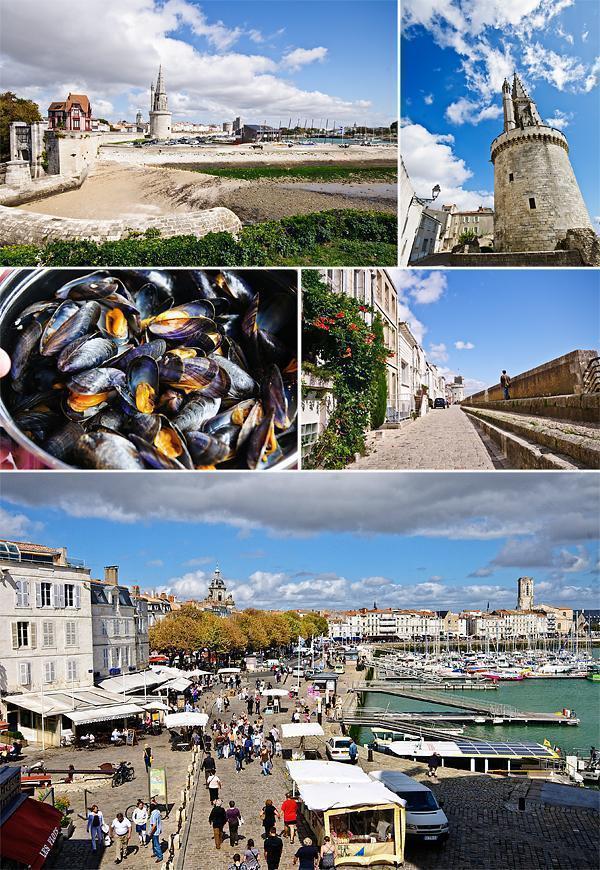 La Rochelle's Vieux Port